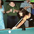 Rachel Plays Pool
