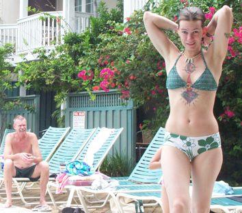 Rachel and Pop in Key West