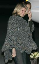 Martha Stewart's Prison Poncho