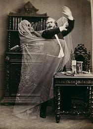 Henri Robin and a Specter by Eugène Thiébault