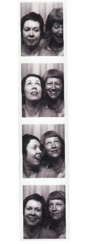 In the Photo Booth with Sarah