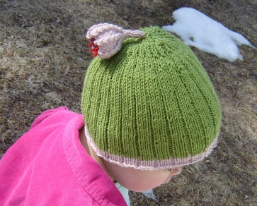 Flower Toggle Hat