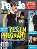 Yes, Angelina Jolie is pregnant.