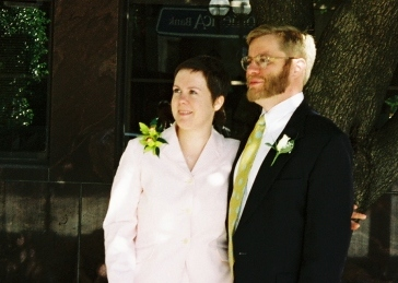 Jessica Jernigan and Ted Clayton