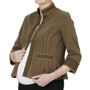 Liz Lange Maternity Cropped Jacket