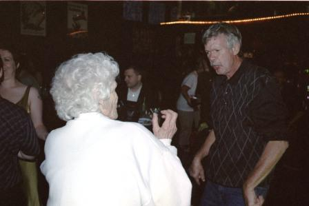 Grandma Reecie and Her Youngest Son Take to the Dancefloor