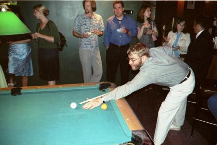 Ted Plays Pool